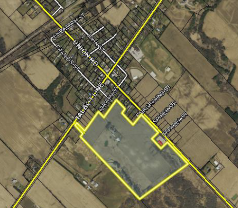 Image of GIS map of Horton Street, Shedden Development  Land for Sale